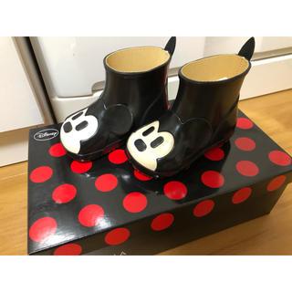 ダイアナ(DIANA)のDIANA ディズニー コラボ ミッキー長靴 13cm(長靴/レインシューズ)