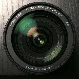 SIGMA - 《美品》SIGMA 17-50mm F2.8 EX DC OS HSM キヤノン