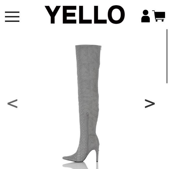 Yellow boots(イエローブーツ)のOROCHI LONG STYLE NO:YE-18A1-LB25 Sサイズ レディースの靴/シューズ(ブーツ)の商品写真