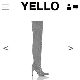 イエローブーツ(Yellow boots)のOROCHI LONG STYLE NO:YE-18A1-LB25 Sサイズ(ブーツ)