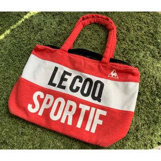 ルコックスポルティフ(le coq sportif)のルコック  le coqトートバッグ スポーツバッグ(トートバッグ)