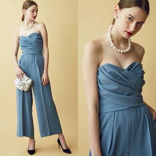 LagunaMoon - ラグナムーン パンツドレス  オールインワン  ブルー S