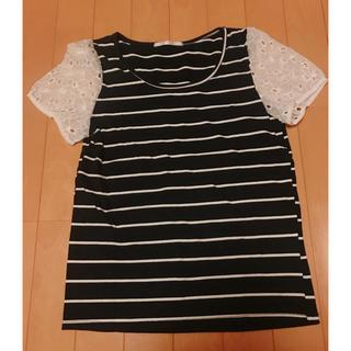 RETRO GIRL - レトロガール ストライプTシャツ
