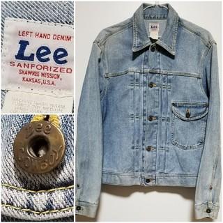 リー(Lee)のリー/Lee カウボーイジャケットワンポケット Cowboyドーナツ型ボタン(Gジャン/デニムジャケット)