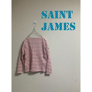 セントジェームス(SAINT JAMES)のSAINT JAMES バスクシャツ 赤白(カットソー(長袖/七分))