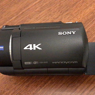 SONY - SONY 4KビデオカメラFDR-AX45