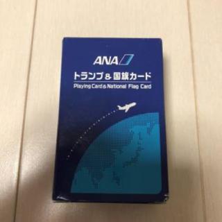 エーエヌエー(ゼンニッポンクウユ)(ANA(全日本空輸))の非売品 ANA  トランプ&国際カード 日本製(ノベルティグッズ)