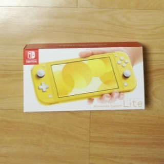 Nintendo Switch - ★未使用★任天堂スイッチライトNintendo Switch Lite イエロー