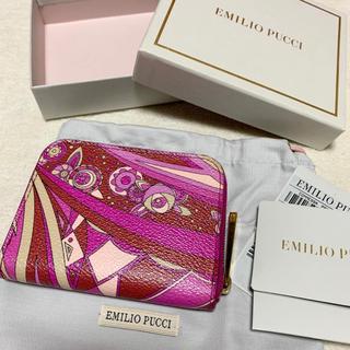 EMILIO PUCCI - エミリオプッチ♡コインケース♡コインパース♡ミニ財布♡カード入れファスナー短財布