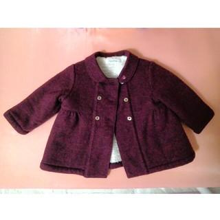 familiar - ファミリア ウール コート