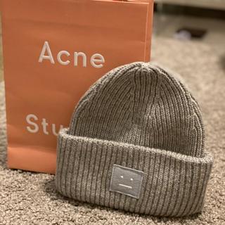 アクネ(ACNE)のacne studios アクネストゥディオズ ニット帽(ニット帽/ビーニー)
