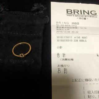 クロムハーツ(Chrome Hearts)のクロムハーツ 22k バブルガムリング CHプラス ダイヤ (リング(指輪))