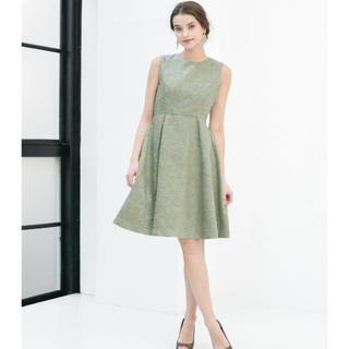 ガール(GIRL)のGIRL チュールペチスカート付 フォーマルパーティードレス(ひざ丈ワンピース)