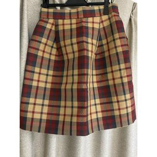 アナトリエ(anatelier)のアナトリエ チェック スカート 38サイズ(ひざ丈スカート)