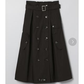 ジーナシス(JEANASIS)の美品♡JEANASIS♡トレンチスカート(ひざ丈スカート)