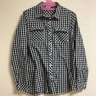 grove - grove ギンガムチェックシャツ