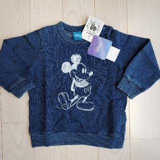 BREEZE - Disneyミッキー柄デニム調トレーナー