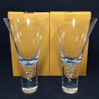 スガハラ(Sghr)のSghr スガハラ 神秘的に立ち昇る泡 ワインカクテル グラス ペア新品 バブル(グラス/カップ)