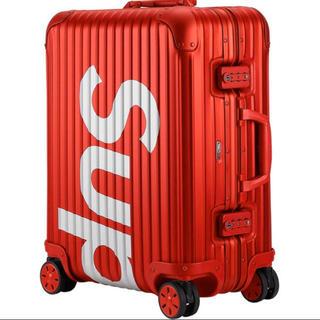 シュプリーム(Supreme)のA Style様専用 シュプリーム×リモワ コラボ キャリーバッグ 45L(トラベルバッグ/スーツケース)
