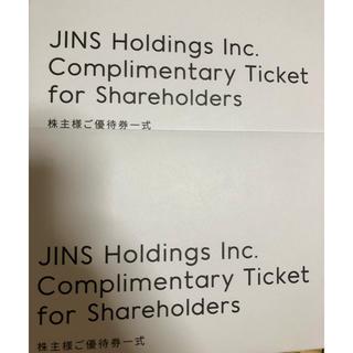 ジンズ(JINS)のJINS 株主優待券 5,000円×2枚(その他)