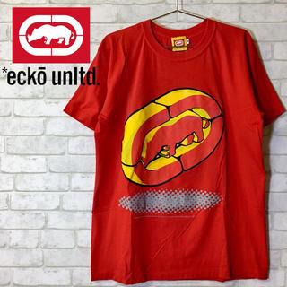 エコーアンリミテッド(ECKŌ UNLTD(ECKO UNLTD))の【ECKO UNLTD】エコー Tee Tシャツ カットソー /レッド Mサイズ(Tシャツ/カットソー(半袖/袖なし))