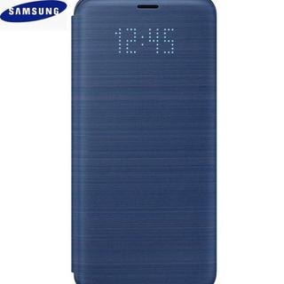 サムスン(SAMSUNG)のSamsung 純正品 Galaxy S9 LED View Cover ブルー(Androidケース)