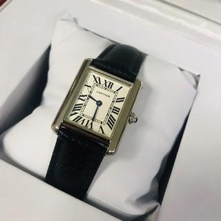 Cartier - Cartier    Tank シリーズ  レディース 腕時計 黒