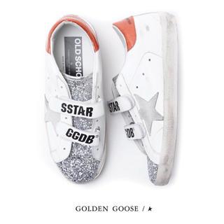 GOLDEN GOOSE - 未使用♡GOLDEN GOOSE♡SUPER STAR♡ベルクロスニーカー♡希少