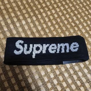 Supreme - supreme ヘアバンド 黒  ブラック