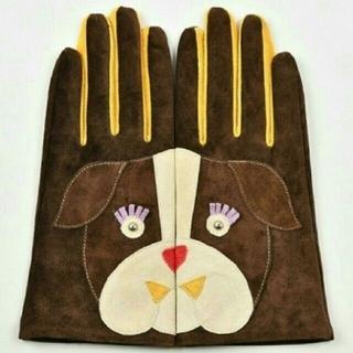 ユナイテッドアローズ(UNITED ARROWS)のキャセリーニ 本革手袋(手袋)