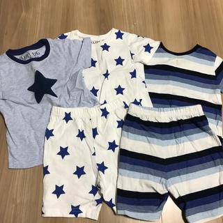 NEXT - next ベビー パジャマ 半袖3枚 半ズボン2枚セット