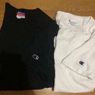 Champion - 【2枚セット】Champion ワンポイント Tシャツ