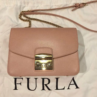 Furla - 最終値下げ FURLA メトロポリス ショルダーバッグ 美品