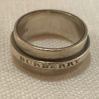 BURBERRY - Burberry silver ring