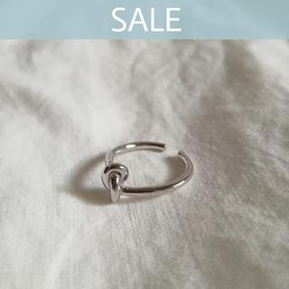 ユナイテッドアローズ(UNITED ARROWS)の【売切りSALE】925 knot ring 🌠 ラスト1点!!(リング(指輪))