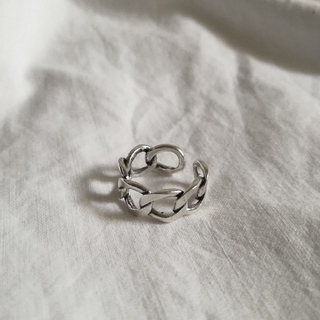 ロンハーマン(Ron Herman)の【 NEW 】925 chain ring 1 *(リング(指輪))