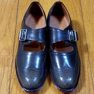 リーガル(REGAL)のリーガル REGAL 革底 ストラップシューズ ピンナップガール ロカビリー(ローファー/革靴)