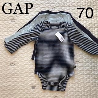 babyGAP -  GAP長袖肌着3枚セット[新品]