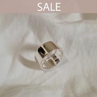 アズールバイマウジー(AZUL by moussy)の【売切りSALE】silver 925 widering  *  8mm(リング(指輪))