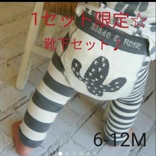 NEXT - ニットレギンス☆サボテン柄 6-12M