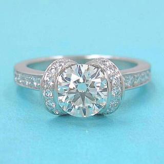 Tiffany & Co. - 定価200万円 Tiffany ティファニー リボンエンゲージメントリング