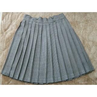 ジエンポリアム(THE EMPORIUM)の◎千鳥格子柄 チェックプリーツスカート(ひざ丈スカート)