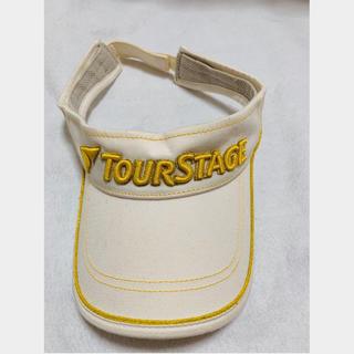 ツアーステージ(TOURSTAGE)の[新品未使用]TOUR STAGE サンバイザー(ウエア)