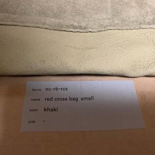 エンダースキーマ(Hender Scheme)のHender Schemered cross bag small カーキ(ショルダーバッグ)