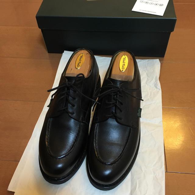 Paraboot(パラブーツ)のparaboot chambord パラブーツ シャンボード 7 黒 メンズの靴/シューズ(ドレス/ビジネス)の商品写真