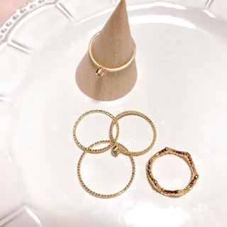ゴールドリングセット(リング(指輪))