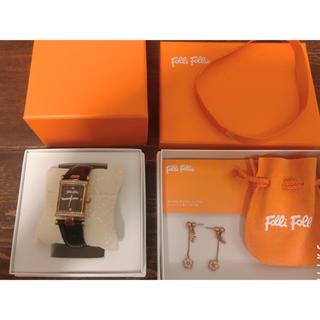 Folli Follie - FolliFolli Xmasセット 時計とピアス 🌟お値下げ可!