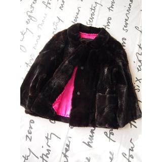 ドゥロワー(Drawer)のドゥロワー☆drawerウィーゼルコートジャケット36ファー毛皮(毛皮/ファーコート)