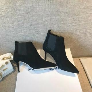 マノロブラニク(MANOLO BLAHNIK)のマノロブラニク ハイヒール パンプス ショート ブーツ(ブーツ)