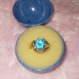 ファッションリング   ブルー(リング(指輪))